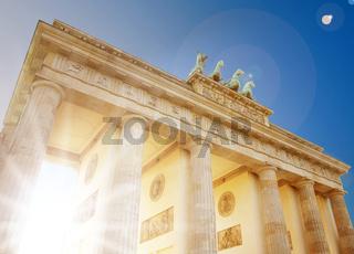 Berlin, Brandenburg gate, Germany