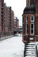 Winter in der Speicherstadt