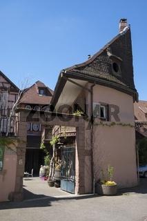 Winzerbetrieb in der Altstadt von Colmar