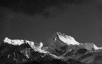 Himalayan peak in Nepal