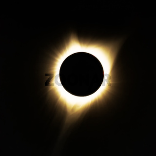 Total Solar Eclipse, Oregon, USA