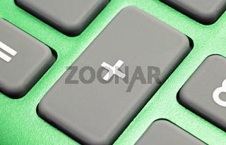 Taschenrechner grün