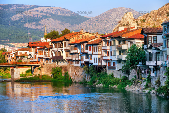Old town of Amasya, Central Anatolia, Turkey