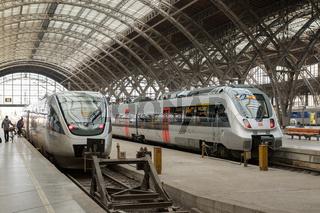 Regionalzüge im Leipziger Hauptbahnhof, Sachsen