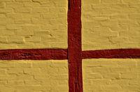 Mauer eines Fachwerkhauses - Schweden