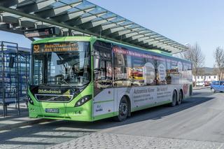 Regionalbus in Saalfeld