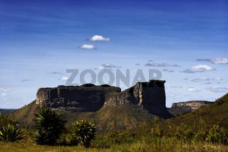 Morro do Camelo, Chapada Diamantina, Nationalpark mit Tafelberglandschaft, Bahia, Brasilien, Südamerika