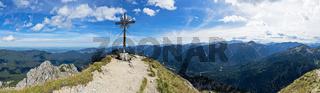 Panorama Grosse Klammspitze