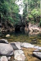 Dschungel-Fluss, Thailand
