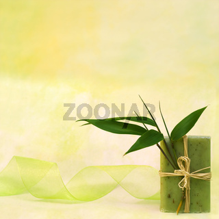 Wellness with herbal soap