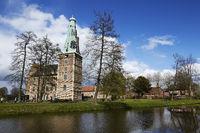 Wasserschloss Raesfeld - Totalansicht