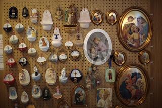 Frankreich Heiligenbilder Le Mont St. Michel