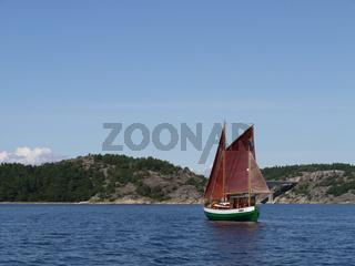 Segelboot, sailing boat