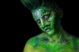 Reptilian Alien Girl