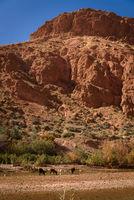Scenic landscape, Atlas Mountains, Morocco