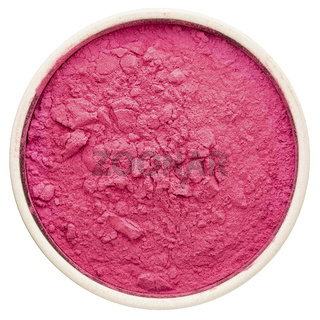 aronia berry powder in a round bowl,