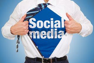 Social Media Influencer Konzept