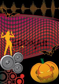 Halloween Disco Flyer