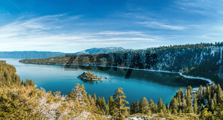 Emerald Bay in Winter