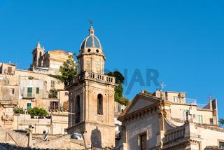 Detail der barocken Altstadt von Ragusa Ibla