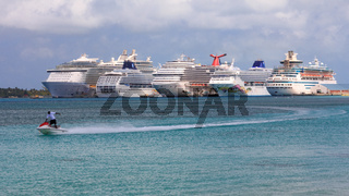 Cruise Ships at Nassau