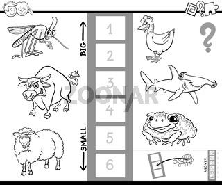 find biggest animal color book