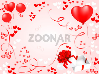 valentnes card. holiday vector background