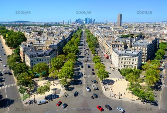 View on district la Defence