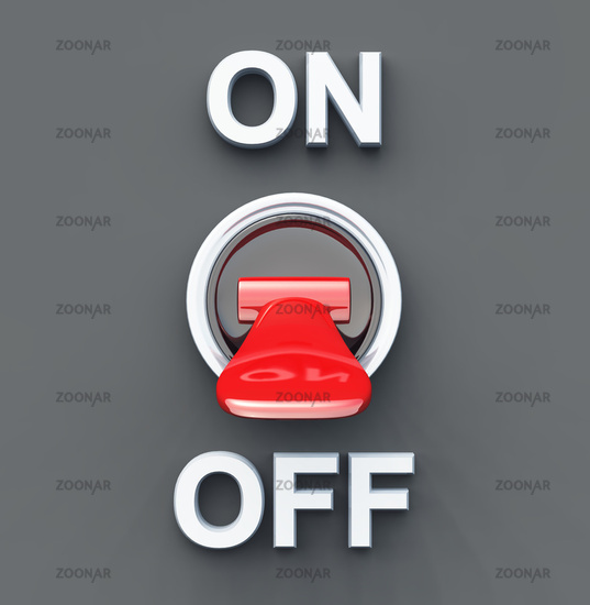Turn the Power OFF - Red Switch