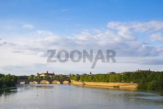 Pont Neuf - Brücke über die Garonne, Toulouse, Frankreich