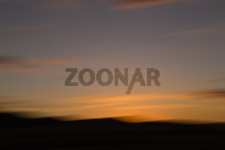 Sonnenuntergang in Namibia, Afrika, Sunset in Namibia, Africa