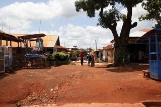 Straße in Konongo