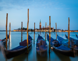 Venice - San Giorgio Maggiore at sunrise