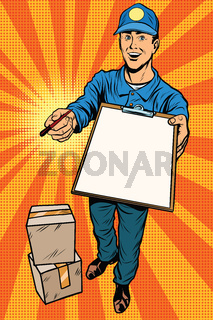Courier delivery service mail and parcels