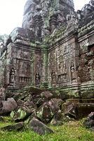 Ruinen eines Tempels, Kambodscha