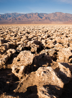 Devils Golf Course Death Valley National Park California