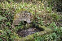 historischer Brunnen im Mainhardter Wald