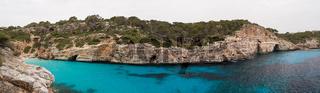 Panorama of Cala des Moro