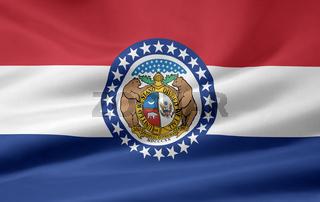 Flagge von Missouri - USA