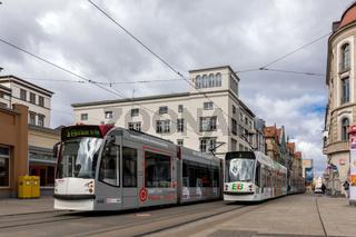 Straßenbahn in Erfurt, Thüringen