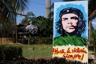 Che Guevara im Eisenbahnmuseum Marcelo Salado,Caibarién,Kuba