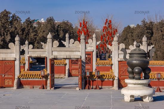 Kulisse für kaiserliche Opferriten: der Erdtempel in Peking