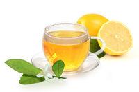 Hot lemon for a cold