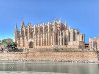 Cathedral of Santa Maria of Palma, Majorca, Spain