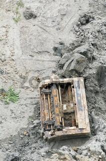 Broken Printer in the Mud
