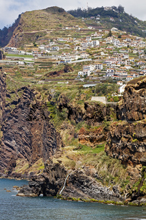 Madeira Portugal View Of Capo Girao Village