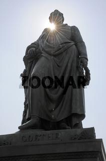 Goethe-Denkmal in Frankfurt