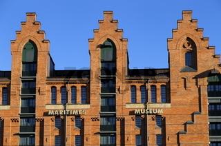 Das Maritime Museum in der Hamburger Speicherstadt