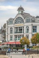 Strandschloss und Kurhaus in Binz