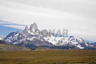 Fitz Roy Massiv, Patagonien, Argentinien
